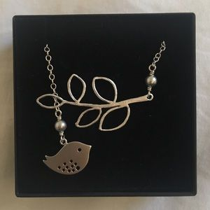 Jewelry - Sterling Silver Peace Dove Necklace